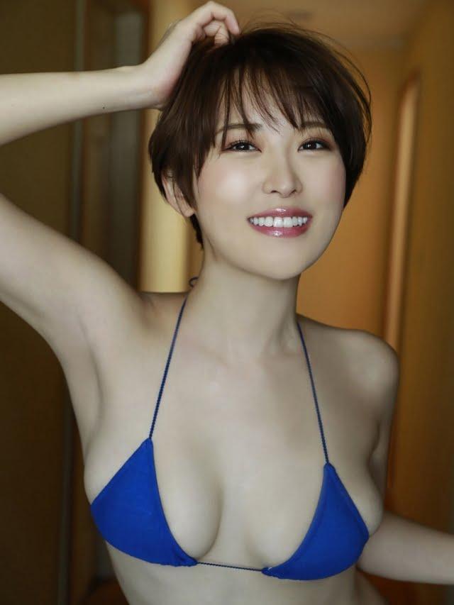 グラビアアイドル写真集 スレンダーGカップの忍野さらちゃんのグラビア・水着まとめ画像パート5 100枚