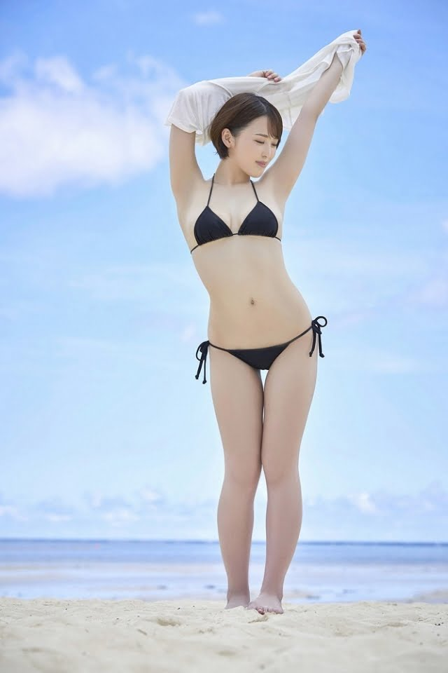グラビアアイドル写真集|スレンダーGカップの忍野さらちゃんのグラビア・水着まとめ画像パート10 100枚