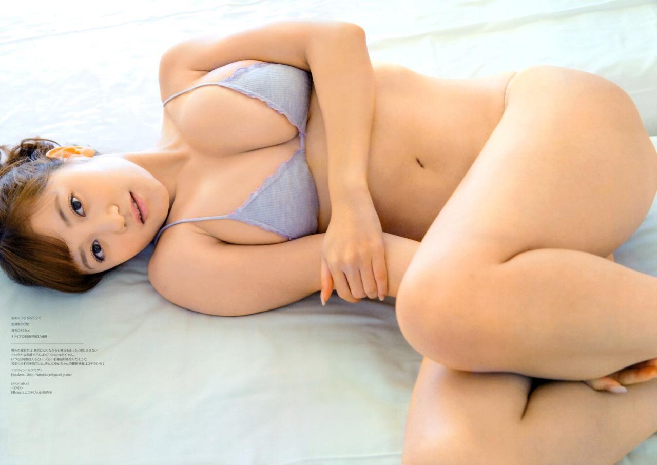 グラビアアイドル写真集|Gカップの葉月ゆめちゃんのグラビアまとめパート4 51枚Number301-351