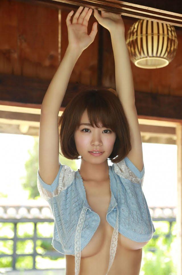 グラビアアイドル写真集 爆乳Iカップ菜乃花ちゃんのグラビアまとめ画像パート9 100枚Number801-900