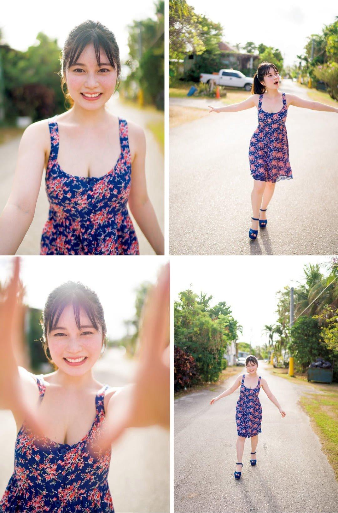 グラビアアイドル画像|美しさと健康的なボディを兼ね備えている元キュウレンジャーの大久保桜子ちゃんの総まとめその2 100枚