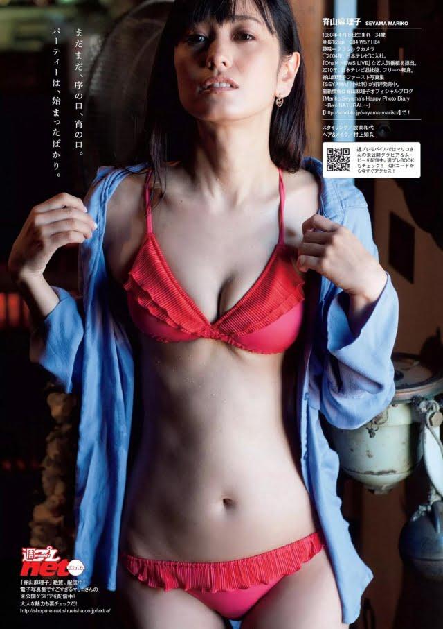 グラビアアイドル写真集|脱ぎたがる元アナウンサーの脊山麻理子ちゃんのグラビアまとめパート2 100枚Number101-200