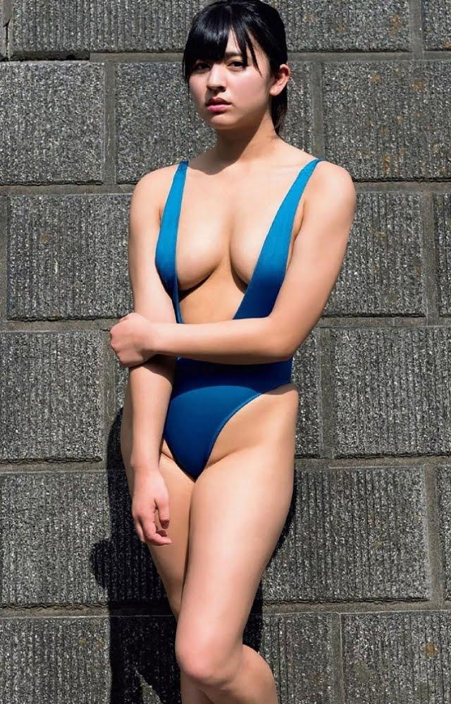 グラビアアイドル写真集 むっちりボディのEカップの徳江かなちゃんのまとめ画像パート1 100枚