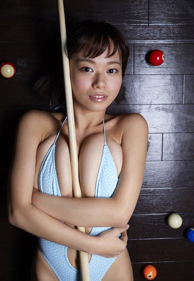 グラビアアイドル写真集 迫力のHカップの和地つかさちゃんのまとめ画像パート3 100枚