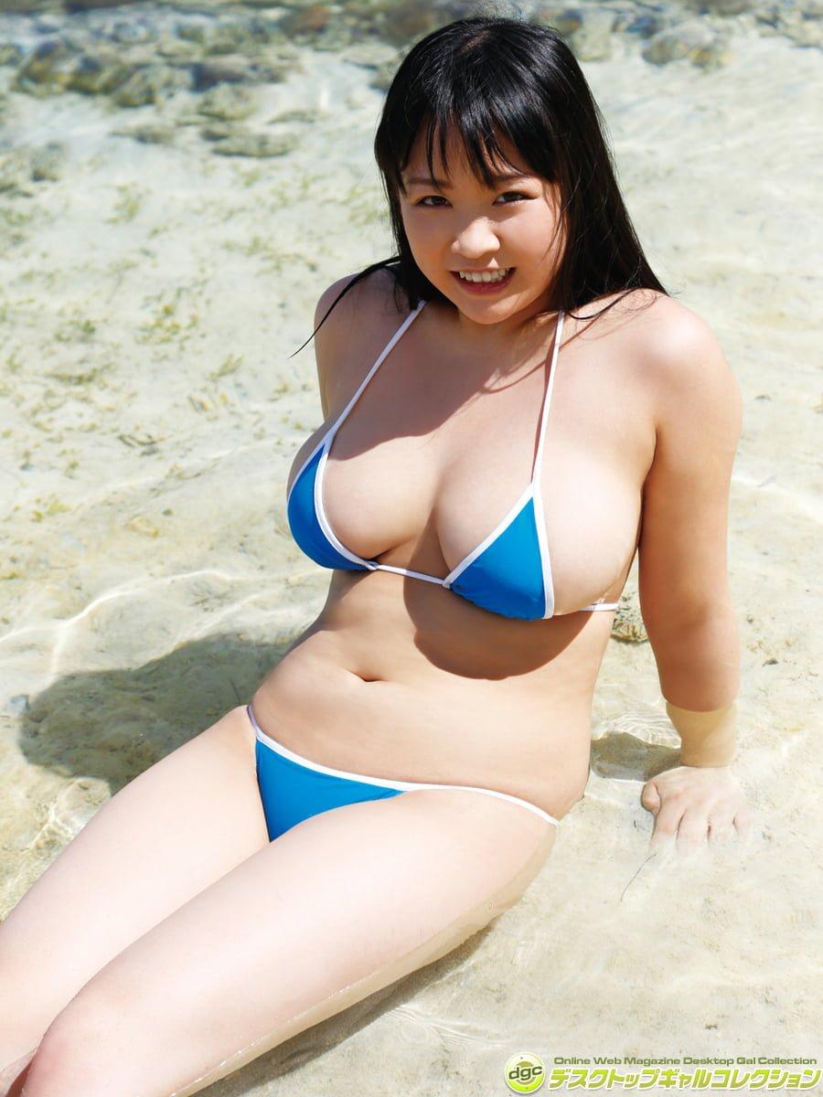 グラビアアイドル写真集|むっちり爆乳のHカップのゆうみちゃんのグラビアまとめパート3 100枚Number201-300