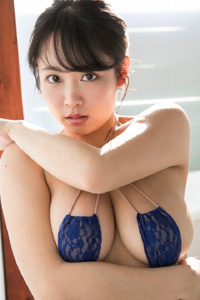 グラビアアイドル写真集 むっちり爆乳のHカップのゆうみちゃんのグラビアまとめパート1 100枚Number001-100