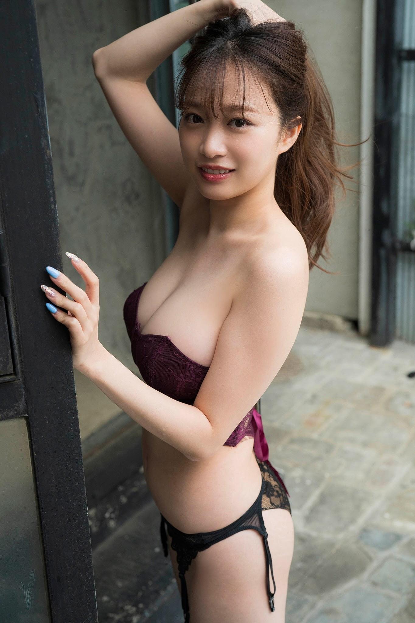 グラビアアイドル写真集|超絶ボディラインの90cmバストを持つ青井春高画質グラビア画像まとめ3 100枚