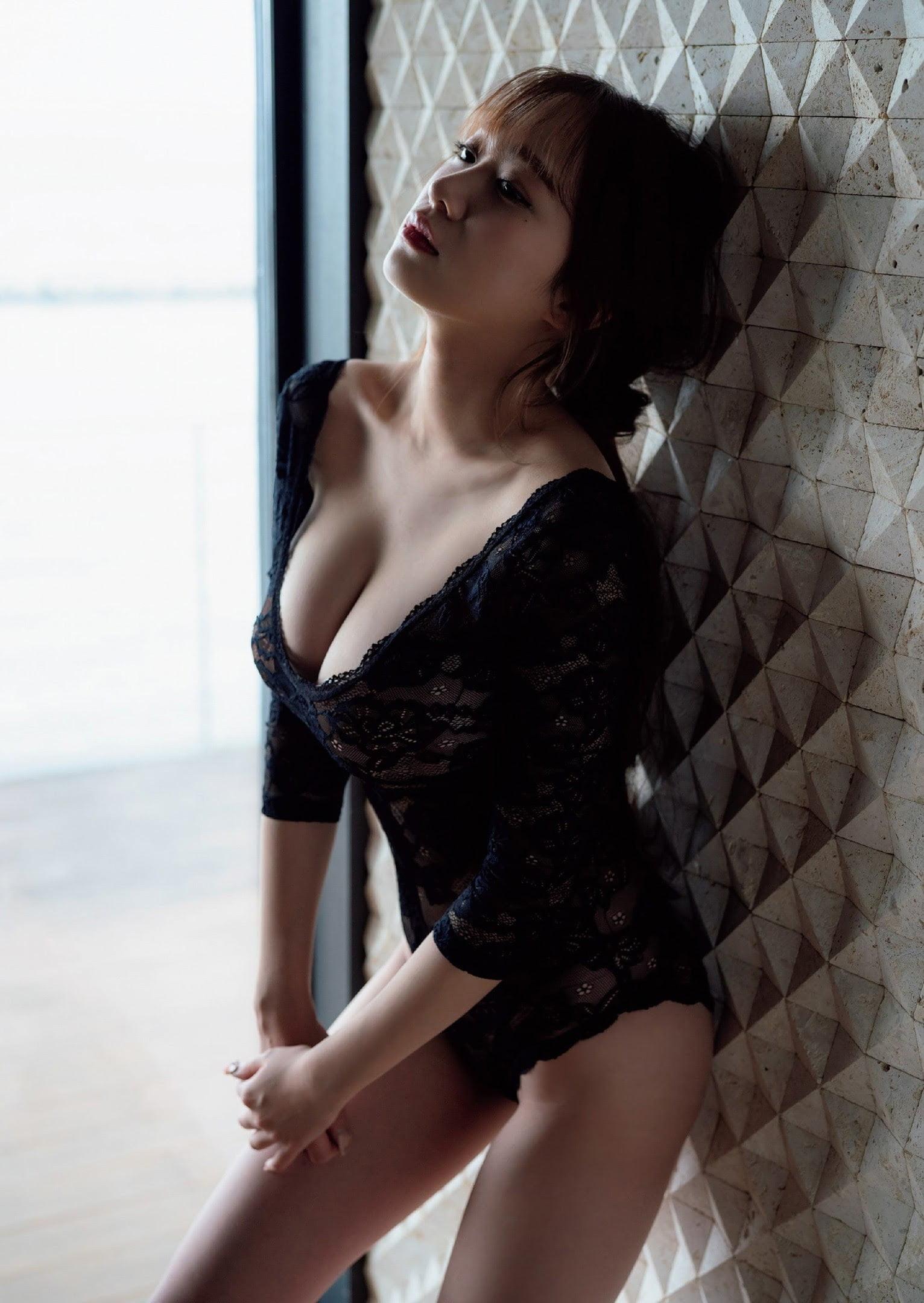 グラビアアイドル写真集 超絶ボディラインの90cmバストを持つ青井春最高画質グラビア画像まとめ4 38枚
