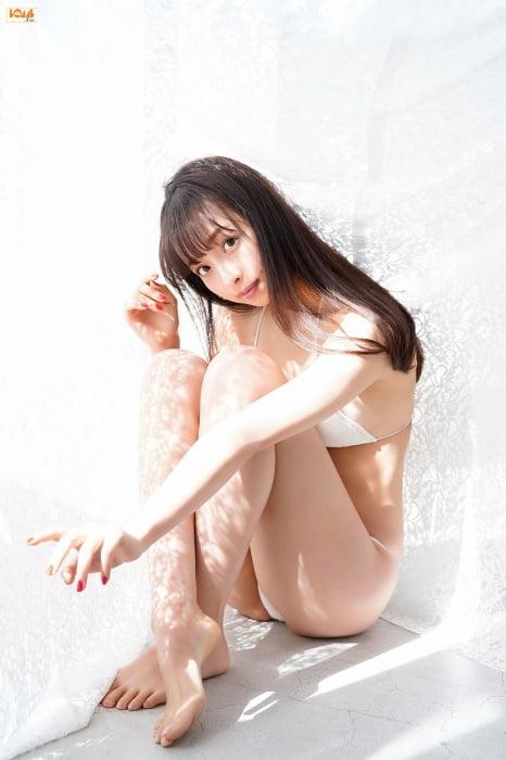 グラビアアイドル写真集 168センチの長身に長い手に抜群のスタイルを持つ華村あすかグラビア画像まとめ1 100枚