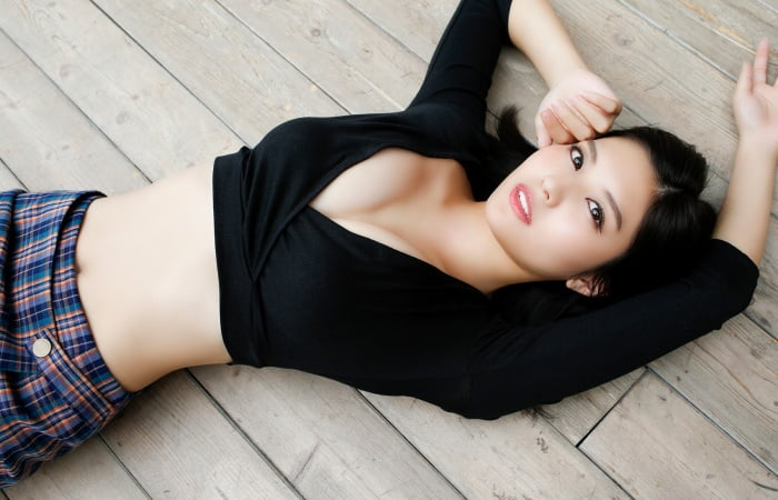 グラビアアイドル写真集 世界一美しい顔に2年連続ノミネートされ令和の癒やし系林ゆめちゃんの林ゆめグラビア画像まとめその2 100枚