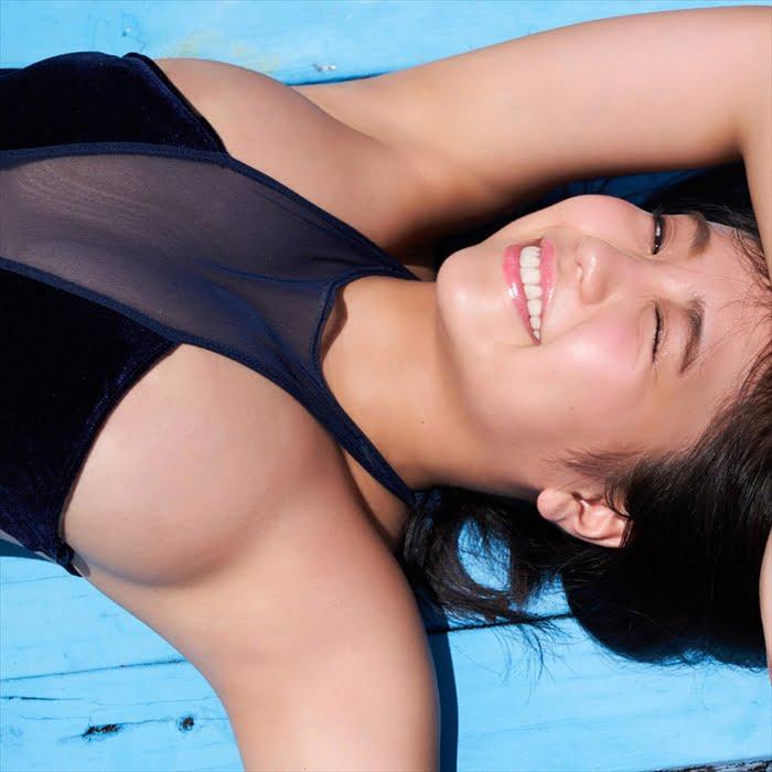 グラビアアイドル写真集|豊満バスト際立つ最強迫力のボディーの大原優乃グラビア画像まとめ3 100枚