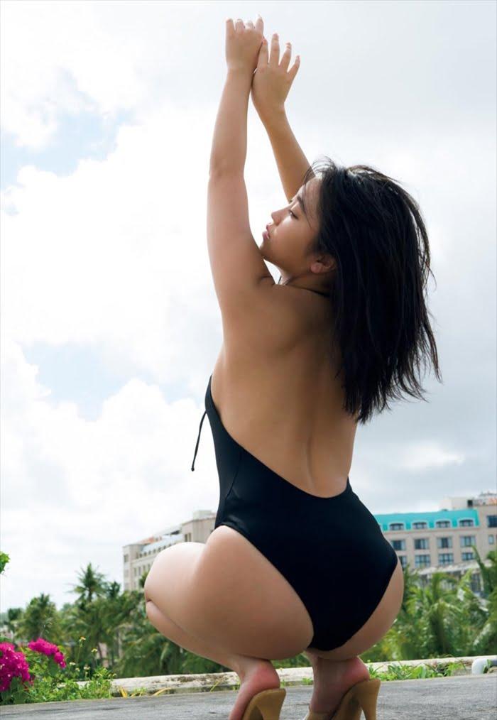 グラビアアイドル写真集|豊満バスト際立つ最強迫力のボディーの大原優乃グラビア画像まとめ6 100枚