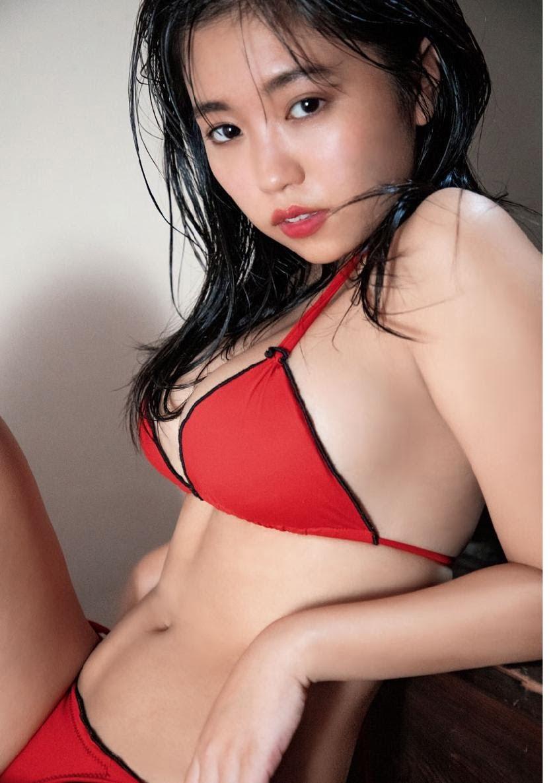 グラビアアイドル写真集|豊満バスト際立つ最強迫力のボディーの大原優乃グラビア画像まとめ7 100枚