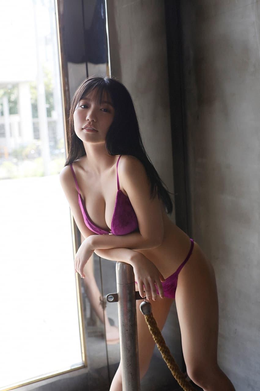 グラビアアイドル写真集|豊満バスト際立つ最強迫力のボディーの大原優乃グラビア画像まとめ8 100枚