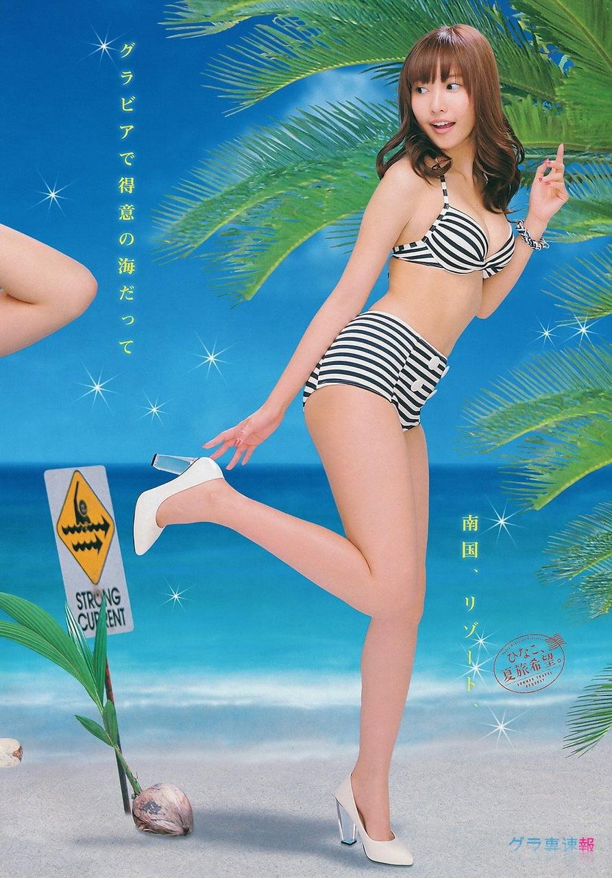 グラビアアイドル写真集|史上最高峰のヘルシー美ボディ抜群のスタイルとキュートなルックスの佐野ひなこグラビア画像まとめ5 100枚