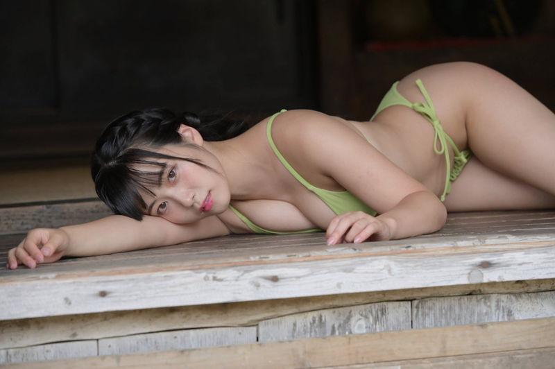 グラビアアイドル写真集|家トレでさらに桃尻でジューシーになった東雲うみグラビア画像まとめ2 100枚