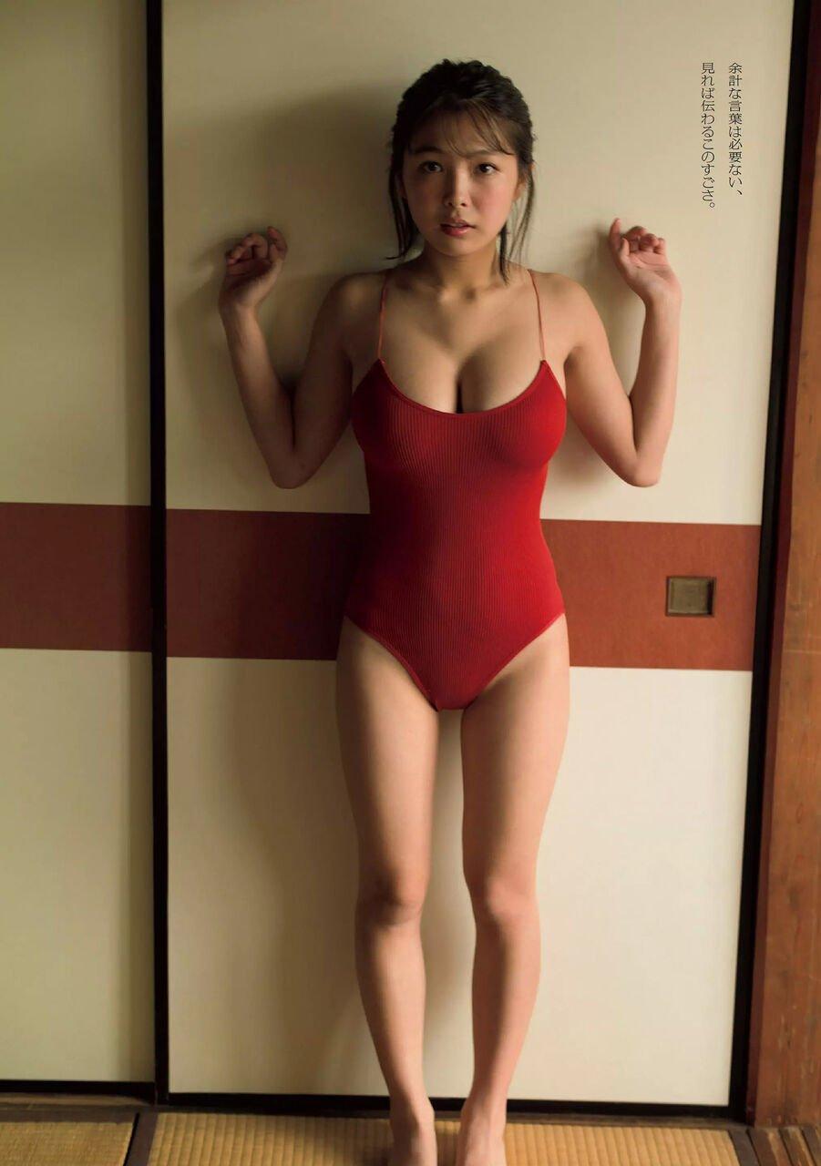 グラビアアイドル写真集|こぼれそうなたわわのバストで美谷間全開の寺本莉緒グラビア画像まとめ5 100枚
