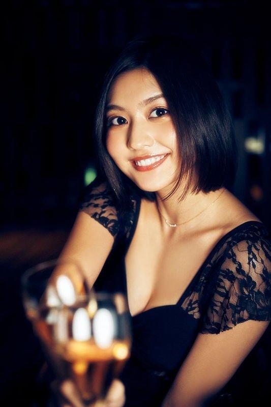 世界一美しい顔に2年連続ノミネートされ令和の癒やし林ゆめグラビア画像パート2 50枚